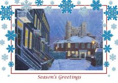 Rochester Snowflakes Christmas card