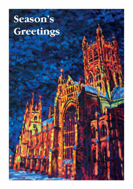 Canterbury Cathedral Illumination Greetings