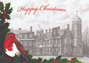 Pickwick's Cobham Hall Christmas Card