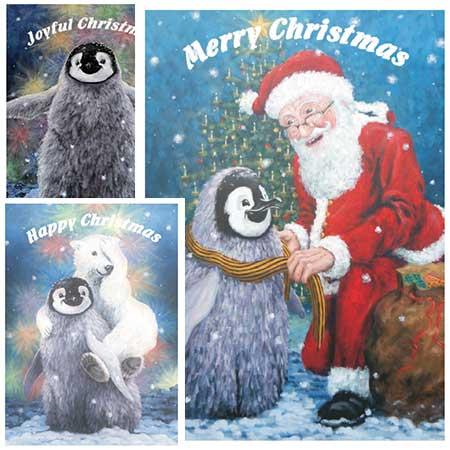 Fluffy Penguin cards