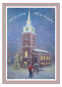 St Georges Christmas Card